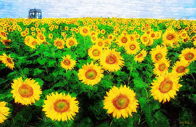 A Sunny Day With Vincent Art Print by Sandy MacGowan
