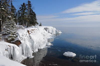 A Superior Winter Day #2 Art Print by Sandra Updyke