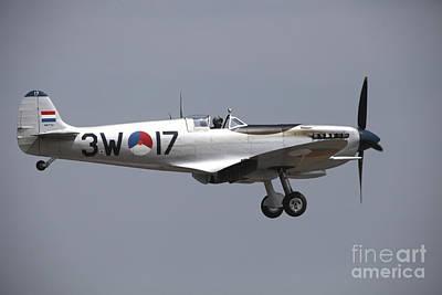 Spitfire Photograph - A Supermarine Spitfire Of The Dutch by Timm Ziegenthaler