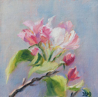 Painting - A Sweet Scent by Debbie Lamey-MacDonald