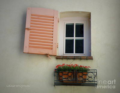 A Sweet Shuttered Window Print by Lainie Wrightson