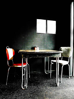 A Table For Two Art Print by Steve Taylor