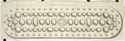 A Table Of Forty Covers. Place Settings Art Print by British Library
