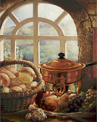 Painting - A Taste Of Provence by Gini Heywood