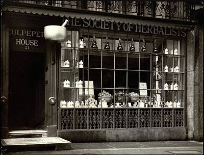 Street Scenes Photograph - A Tea House In London by E. J. Mason