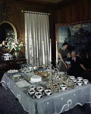 Photograph - A Tea Service by John Rawlings