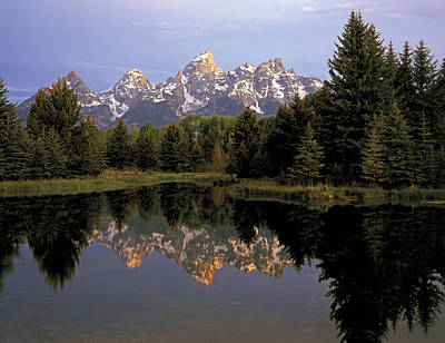 Photograph - A Teton Morning by Paul Breitkreuz