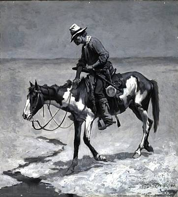 Painting - A Texas Pony by Roberto Prusso