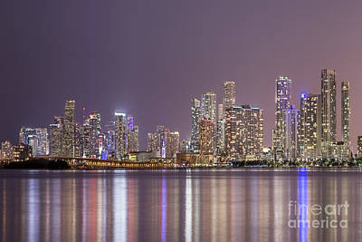 Royalty-Free and Rights-Managed Images - A Thousand Lights In The City by Evelina Kremsdorf
