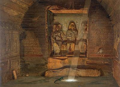 A Tomb At El-kab, One Of 24 Art Print
