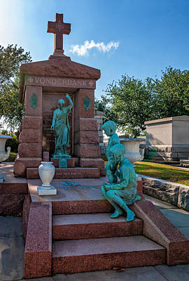 Metairie Photograph - A Tomb To Die For by Steve Harrington