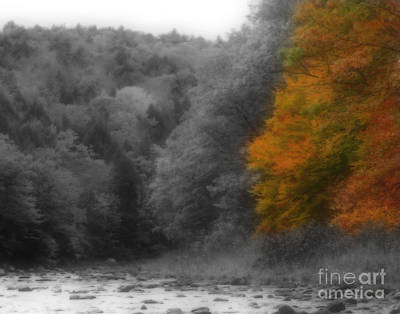 A Touch Of Autumn Colors Art Print by Smilin Eyes  Treasures