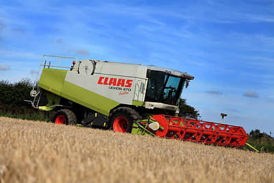 A Touch Of Claas Print by Paul Lilley