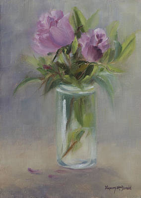 Painting - A Touch Of Elegance by Debbie Lamey-MacDonald