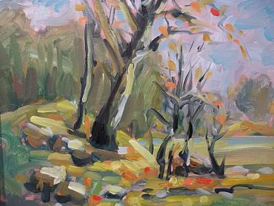 Robert Martin Painting - A Touch Of Fall by Robert Martin