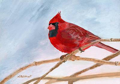 Painting - A Touch Of Red by Lynne Reichhart