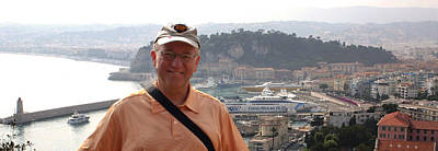 Photograph - A Tourist In Nice by Jim Vance