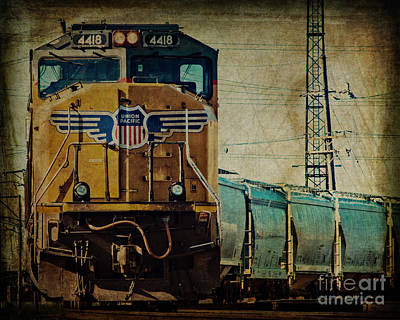A Train To Chicago Art Print by Emily Kay