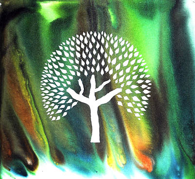 A Tree I Dreamt Of  Art Print by Sumit Mehndiratta
