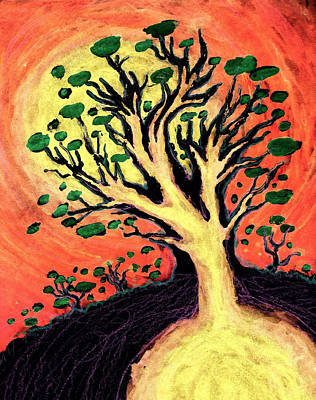 Mixed Media - A Tree Is Born by David Condry