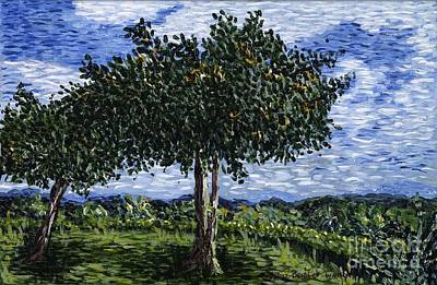 Jamaica Painting - A Tree With A View by Bridget Watson