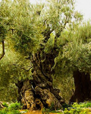 A Treesome Art Print