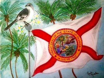 Pastel - A Tribute To Florida by Renee Michelle Wenker