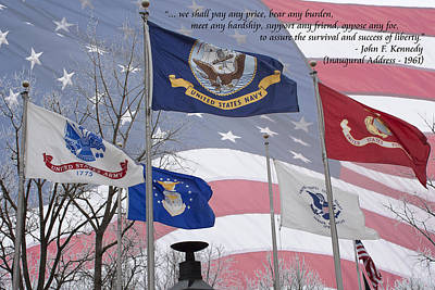 A Tribute To Our Freedom Art Print by Ron Grafe