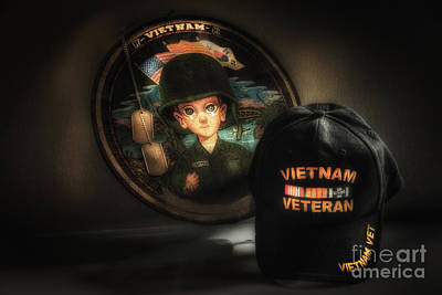 A Tribute To Viet Nam Vets Art Print by Arnie Goldstein