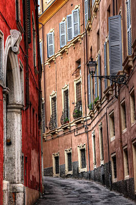 Quiet Town Photograph - Memory Lane Verona by Carol Japp