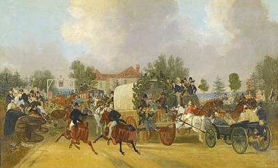 Sutton Painting - A Trip To Epsom by Celestial Images