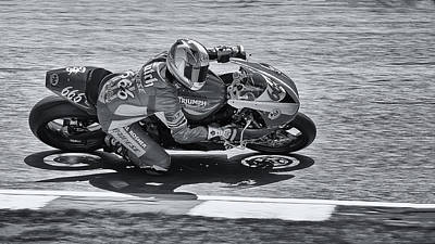 Slider Photograph - A Triumph In Black And White by Nigel Jones