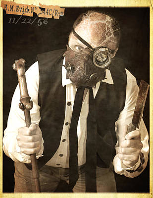 Steampunk Photograph - A Troubling By-product Of Our Modern Age Of Science by Evan Butterfield