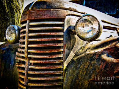Photograph - A Truck Of A Different Color by Colleen Kammerer