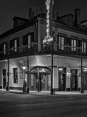 Night Scenes Photograph - A Tujagues Night Monochrome by Steve Harrington