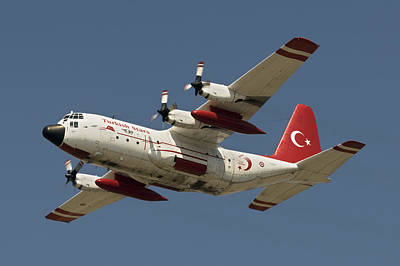 Beers On Tap - A Turkish Air Force C-130e Hercules by Daniele Faccioli