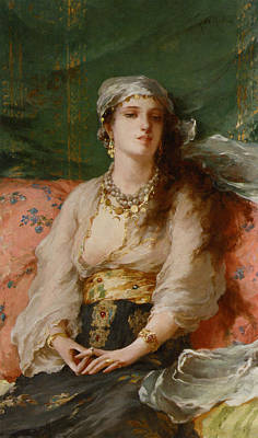 Martini Royalty-Free and Rights-Managed Images - A Turkish Beauty by Gaetano de Martini