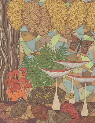 A Turtles View Art Print by Pamela Schiermeyer