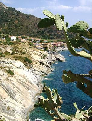 A Typical Bay Of Elba Island Art Print by Giuseppe Epifani