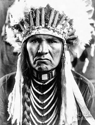 A Typical Nez Perce Art Print
