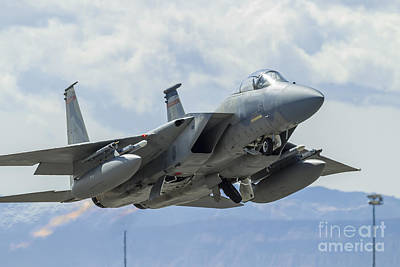 Art History Meets Fashion - A U.s. Air Force F-15c Eagle Taking by Rob Edgcumbe