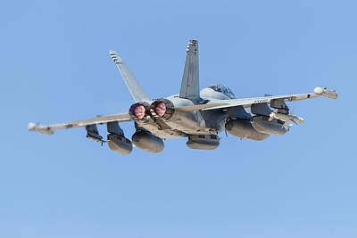 Womens Empowerment - A U.s. Navy Ea-18g Growler Taking by Rob Edgcumbe