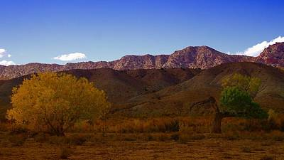 A Utah Landscape In Autumn Art Print by Jeff Swan