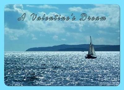Photograph - A Valentine's Dream by Joan-Violet Stretch