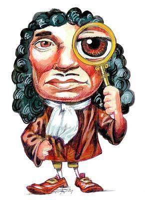 Antoni Photograph - A. Van Leeuwenhoek by Gary Brown