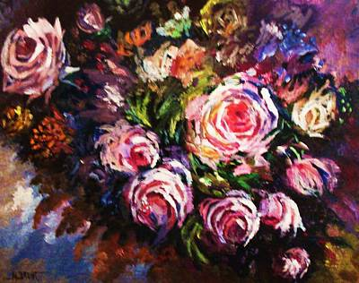 A Varied Bouquet Art Print by Al Brown