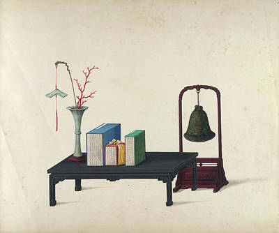 Illustration Technique Photograph - A Vase by British Library