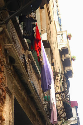 Photograph - A Venetian's Washing by Maria  Disley