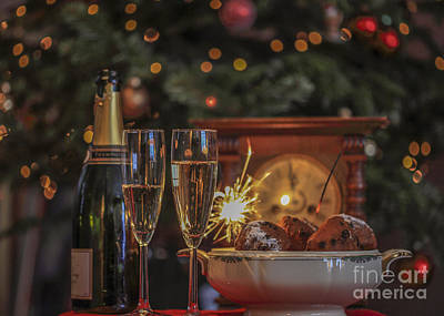 A Very Happy New Year Art Print by Patricia Hofmeester