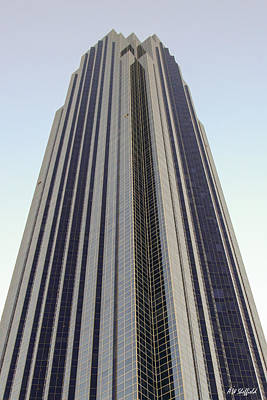 Photograph - A Very Tall Building In Houston by Allen Sheffield